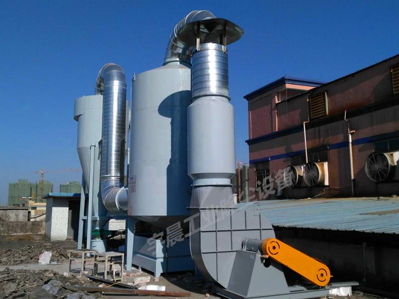 东莞厚街盛基家具厂除尘器厂家案例