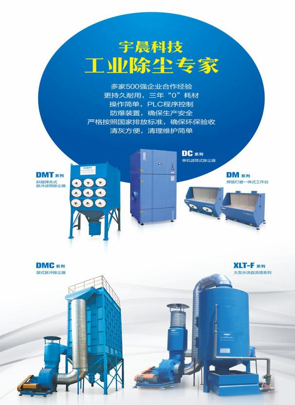脉冲袋式除尘器的选型方法