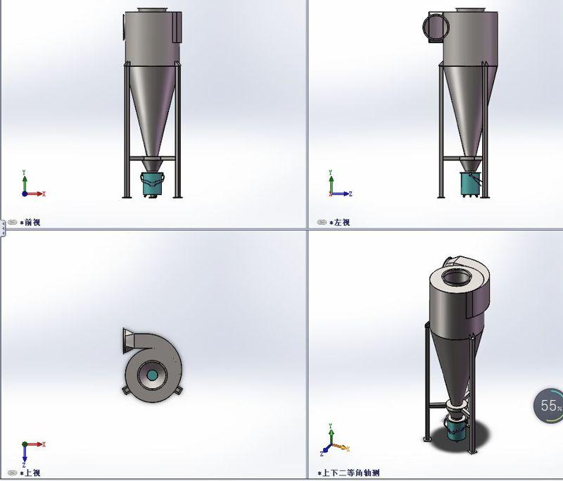 旋风除尘器工作原理相关介绍
