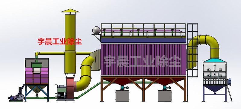 脉冲袋式除尘器具有高除尘能力