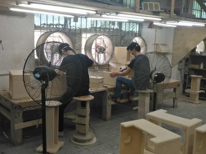 木器厂打磨机除尘器案例图片