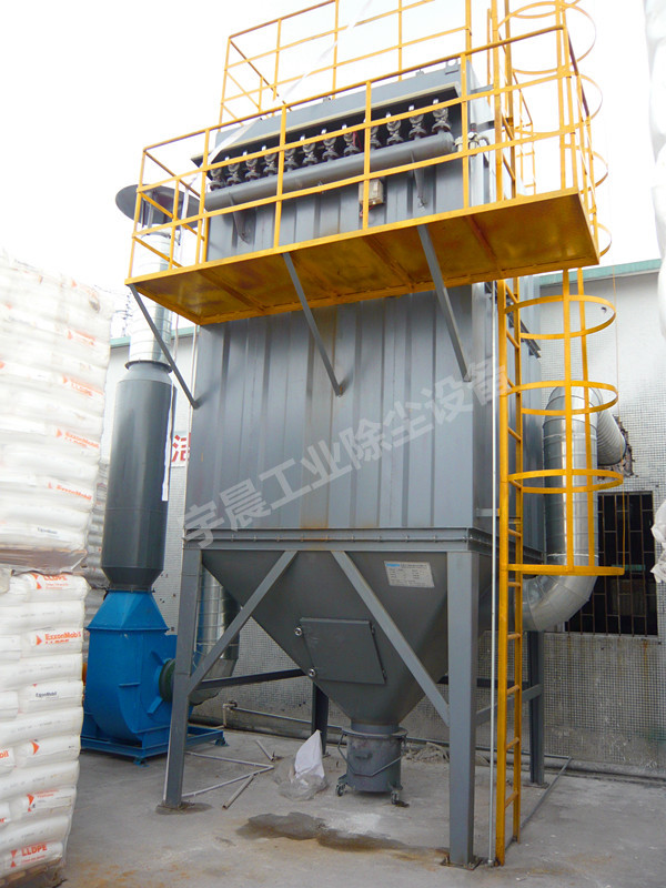 车间石材打磨除尘器设备案例图片