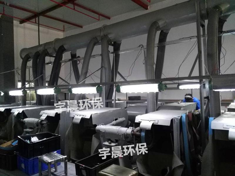 打磨拋光除尘器系统设计方案相关介绍