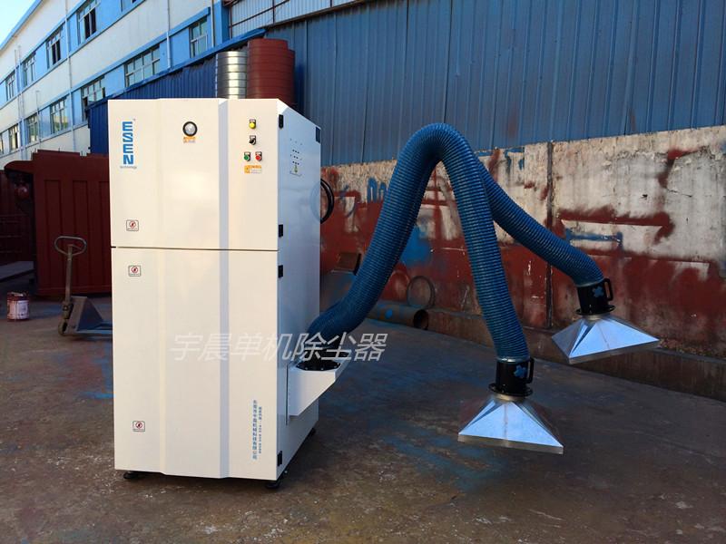 打磨单机除尘器工艺流程介绍