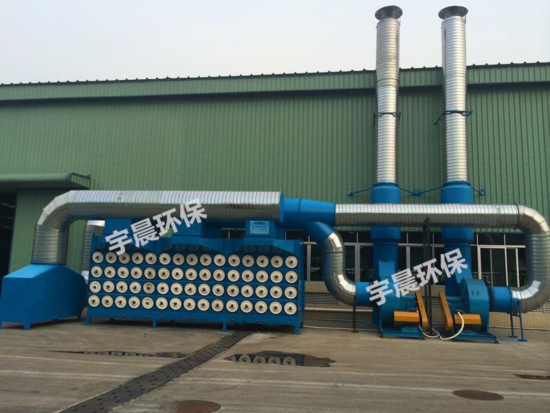 深圳高效袋式除尘器厂家案例图片