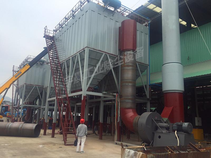 煤矿布袋除尘器厂家案例图片