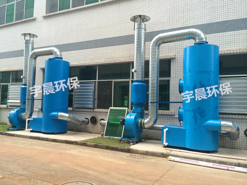 深圳水喷淋除尘器厂家案例图片
