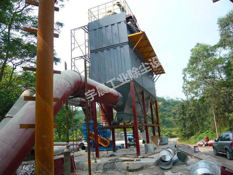 碎石筛分除尘器专业生产厂家案例图片