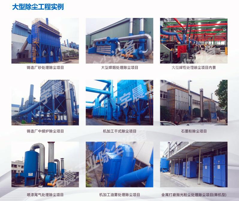 工业除尘器厂家供应案例