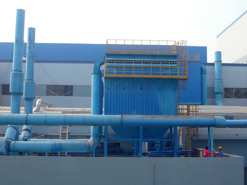 96袋单机除尘器生产厂家案例图片