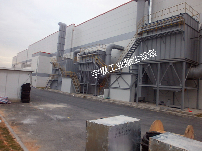 广东脉冲除尘器厂家直销案例图片