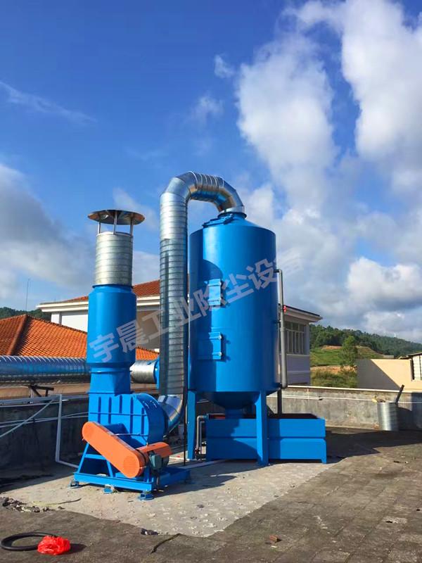 东莞常平水喷淋除尘器厂家案例图片