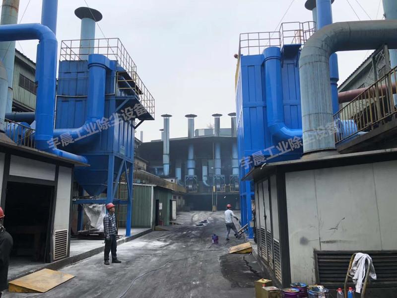 振动筛除尘器厂家案例