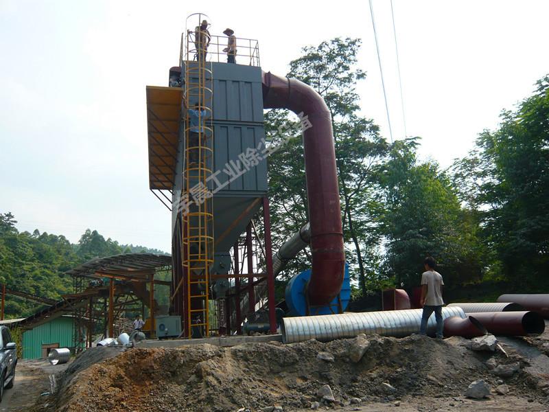 采石场除尘器制造厂家案例图片