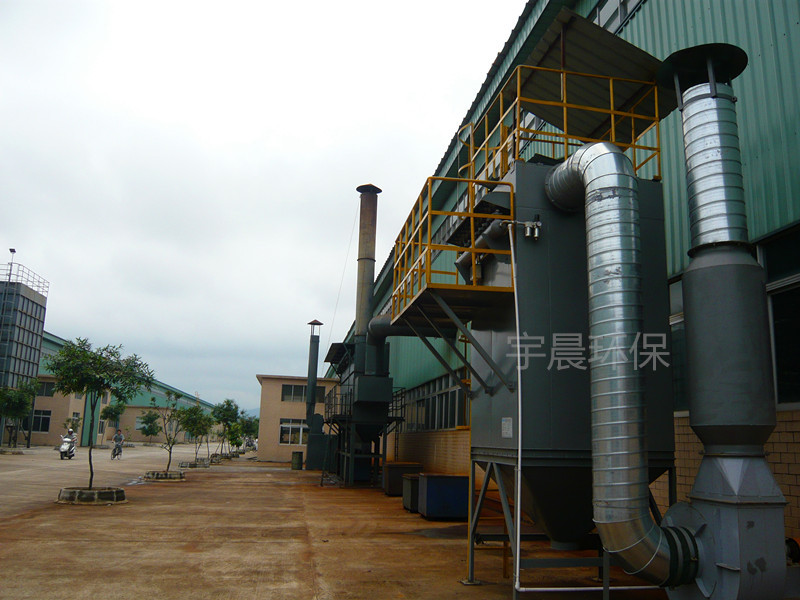 玻璃钢除尘器生产厂家案例图片