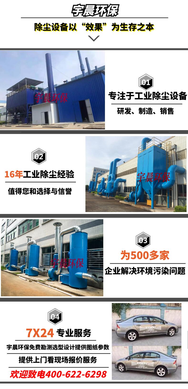布袋脉冲除尘器价格生产厂家案例图片