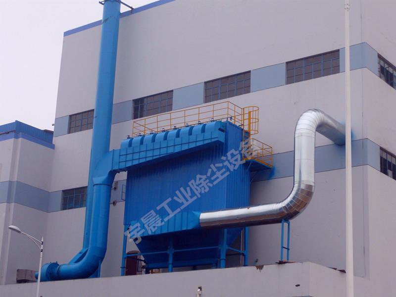 脉冲布袋式除尘器厂家案例图片