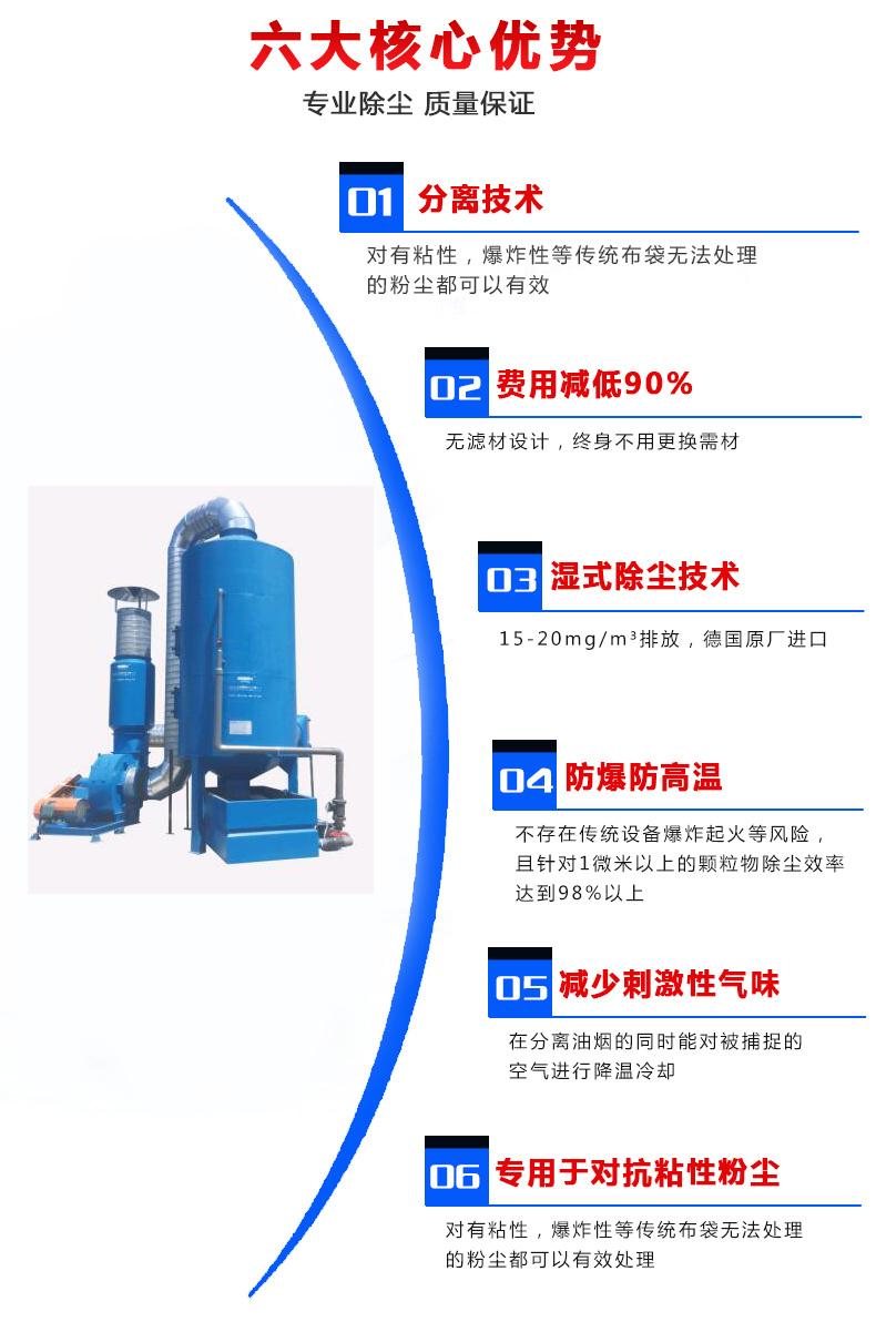 打磨抛光除尘系统用什么好?