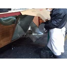 五金厂打磨抛光除尘器