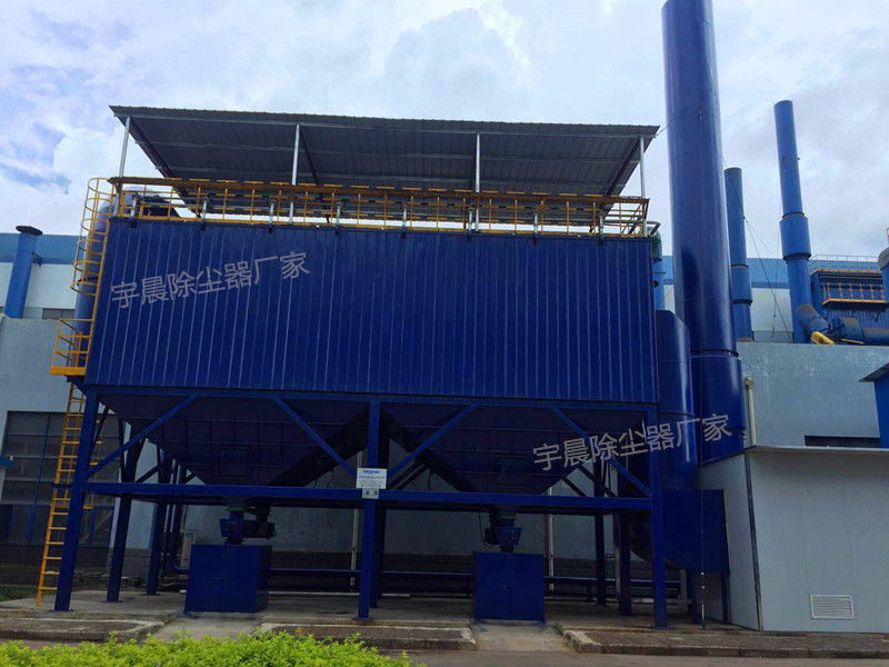 铸造厂布袋除尘器厂家案例图片
