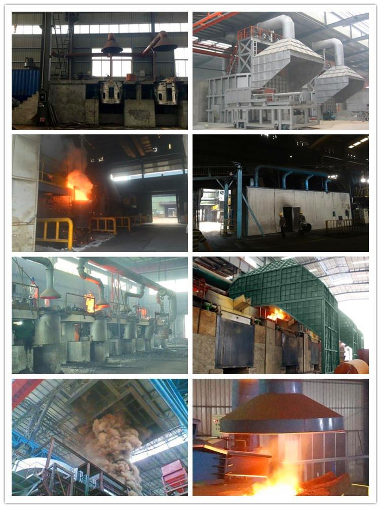 中频炉布袋除尘器厂家现场案例